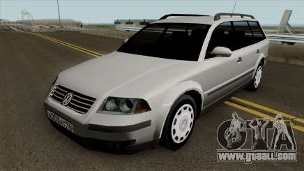 Volkswagen Passat B5+ Wagon for GTA San Andreas