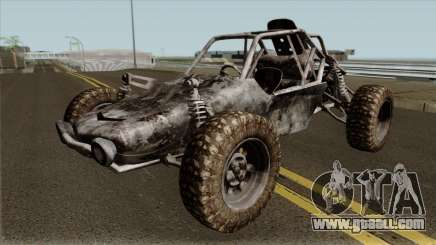 Playerunknown Battleground Buggy IVF for GTA San Andreas