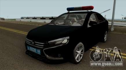Lada Vesta Traffic Police v2 for GTA San Andreas