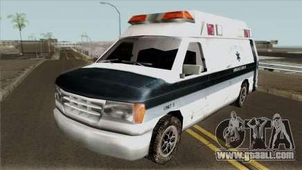 Carcer City Ambulance for GTA San Andreas