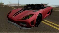 Koenigsegg Agera for GTA San Andreas