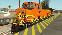 GE ES44DC - BNSF Locomotive for GTA San Andreas