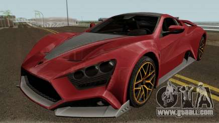Zenvo ST1 GT 18 for GTA San Andreas