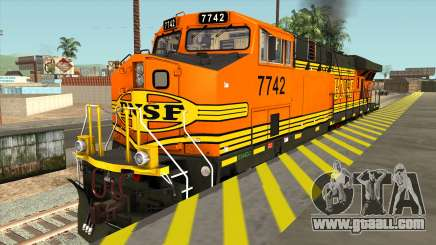 GE ES44DC - BNSF Locomotive for GTA San Andreas