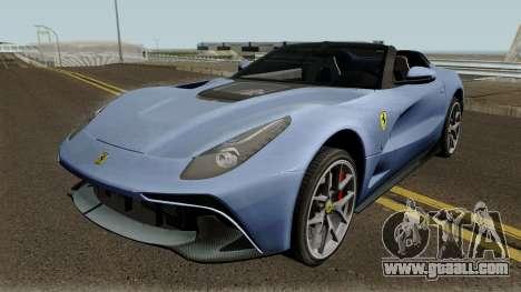 Ferrari F12 Berlinetta TRS 2018 for GTA San Andreas