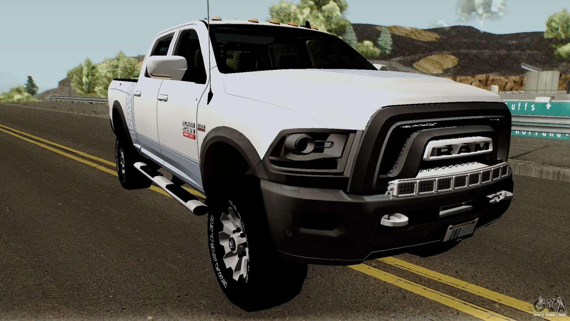 ram 2500 dodge wagon power gta andreas san truck american mod nice body cars detailed