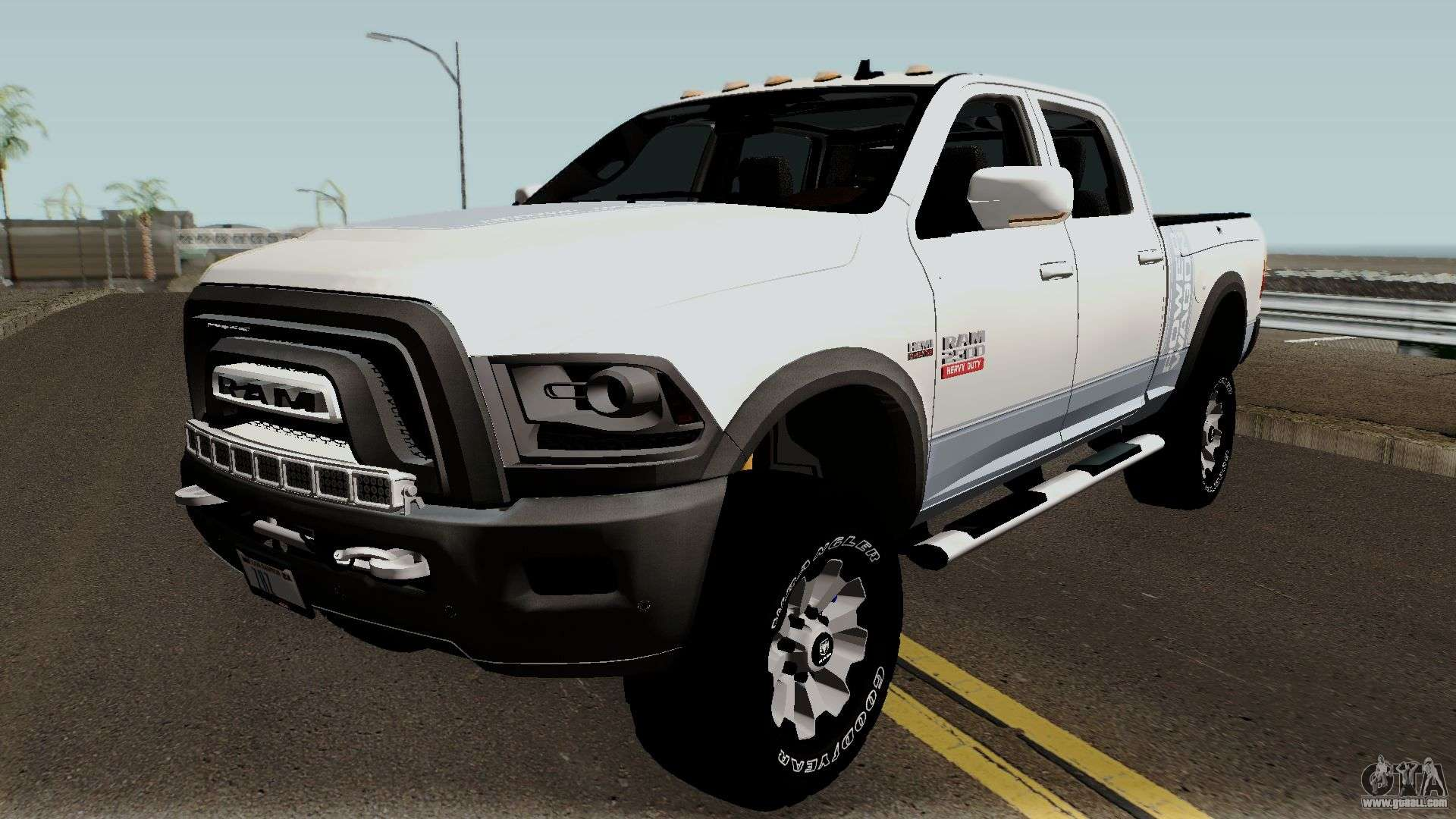 dodge ram 2500 power wagon 2017 for gta san andreas. Black Bedroom Furniture Sets. Home Design Ideas