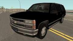 Chevrolet Suburban GMT400 1998 FBI for GTA San Andreas