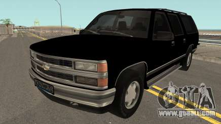 Chevrolet Suburban GMT400 1998 FBI for GTA San Andreas