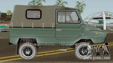 LuAZ-969М v3 for GTA San Andreas back view