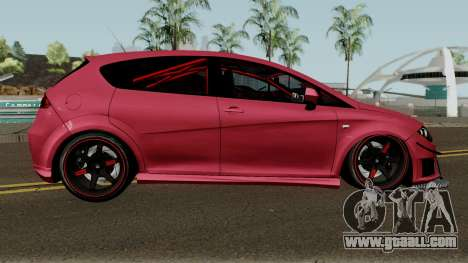 Seat Leon Cupra R for GTA San Andreas back view