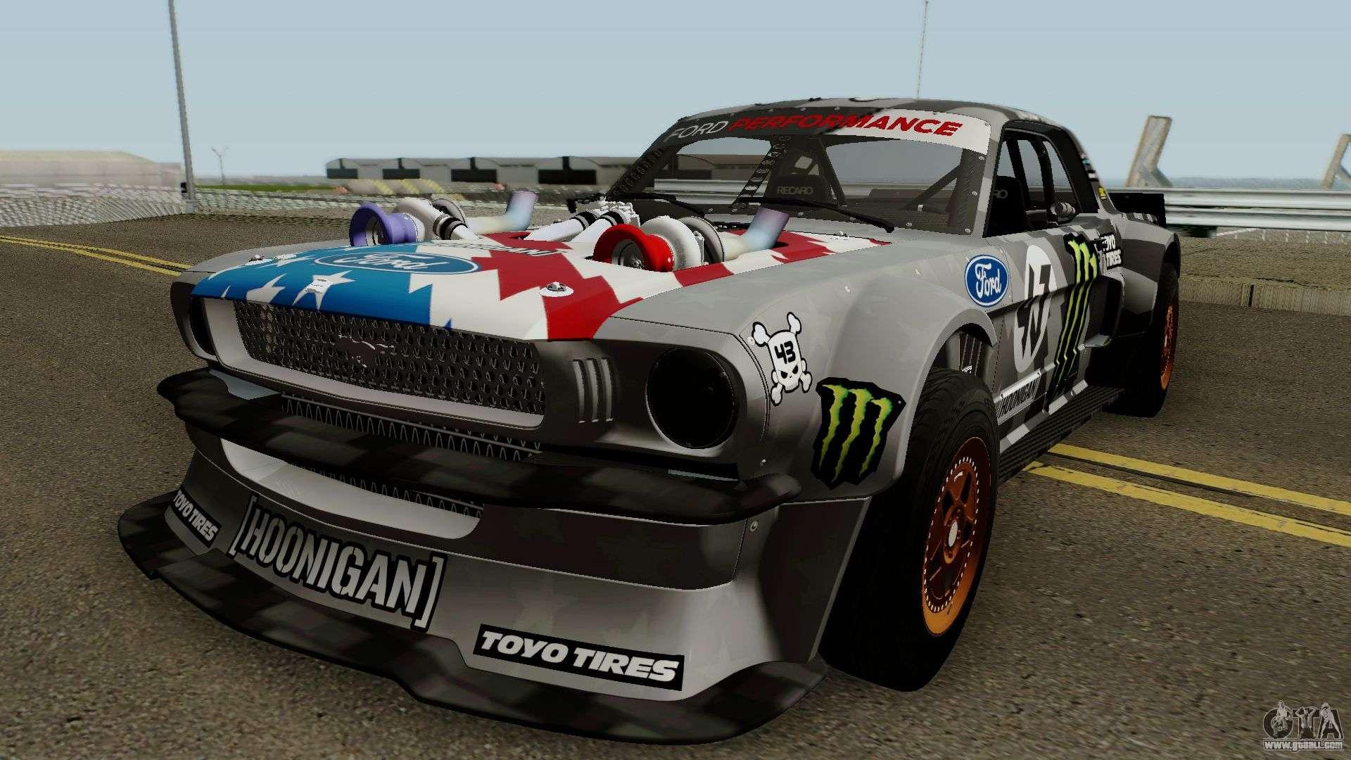The Hoonigan Mustang