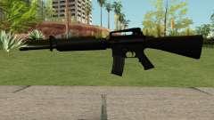 New M4 Black for GTA San Andreas