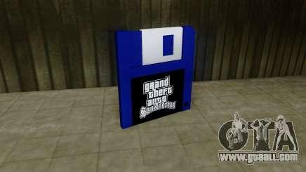 Save Icon HD for GTA San Andreas
