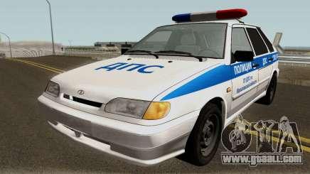 VAZ 2114 Police of the Yaroslavl Region for GTA San Andreas