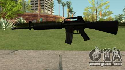 New M4 Black for GTA San Andreas
