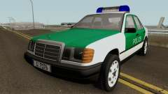 Mercedes-Benz E-Klasse W124 1993 Police for GTA San Andreas