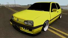 Volkswagen Golf 3 Stanced v2 for GTA San Andreas
