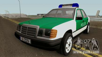 Mercedes-Benz E-Klasse W124 1993 Police for GTA San Andreas