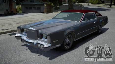 Lincoln Continental Mark IV 1974 for GTA 4