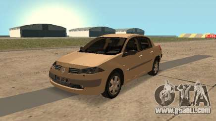 Renault Megane II Sedan 2004 v2.1 for GTA San Andreas
