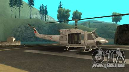Agusta Bell 212 Turkısh Naval Forces for GTA San Andreas
