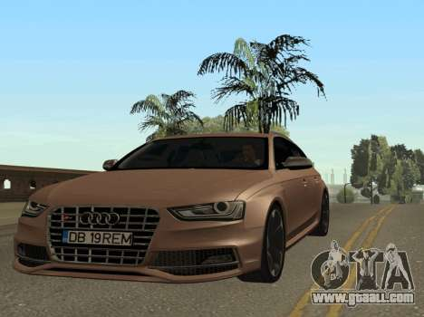 Audi S4 Avant B8.5 for GTA San Andreas