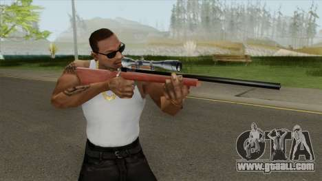 Sniper Rifle (HD) for GTA San Andreas