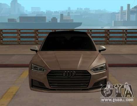 Audi S5 B9 Sportback for GTA San Andreas