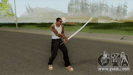 Katana (HD) for GTA San Andreas