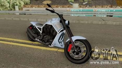 Western Motorcycle Nightblade (V2) GTA V for GTA San Andreas