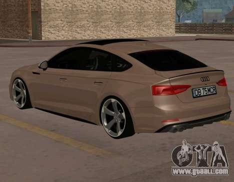 Audi S4 Sportback Rotor for GTA San Andreas