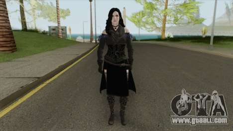 Yennefer (The Witcher 3) for GTA San Andreas