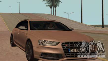 Audi S4 Avant B8.5 for GTA San Andreas