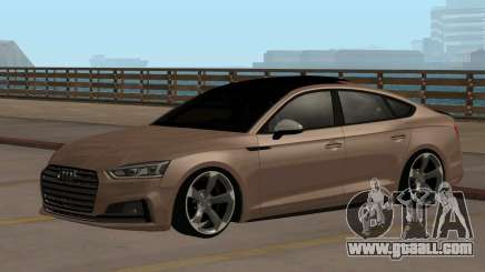 Audi S5 B9 Sportback for GTA San Andreas