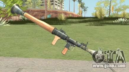 Rocket Launcher (HD) for GTA San Andreas