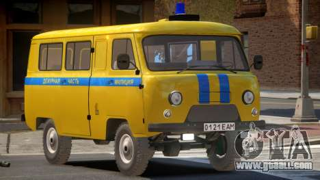 UAZ 3962 Police for GTA 4
