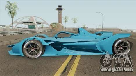 Spark SRT05e (Formula E) 2018 for GTA San Andreas