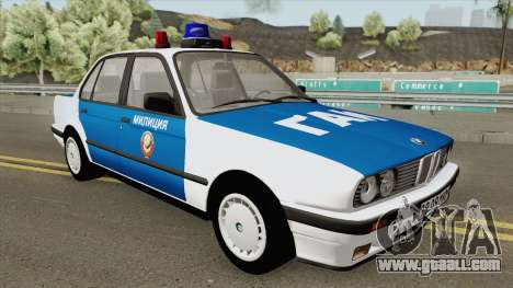BMW E30 (Police) 1988 for GTA San Andreas
