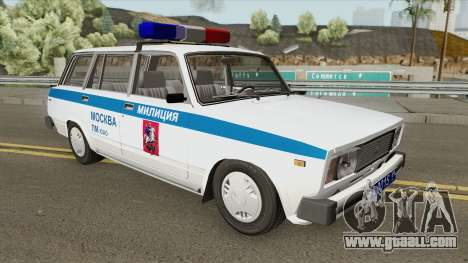 VAZ 2104 (Police of Moscow) for GTA San Andreas