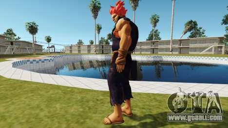 Akuma Gouki Tekken 7 for GTA San Andreas