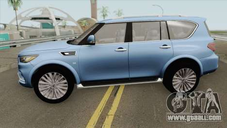Infiniti QX80 2018 for GTA San Andreas