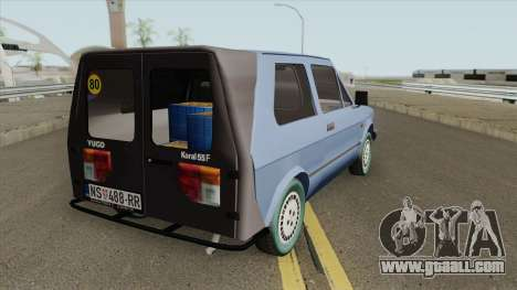Yugo Koral 55 F for GTA San Andreas