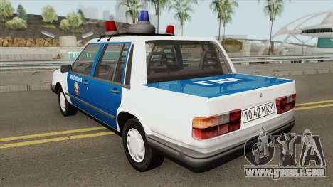 Volvo 460 (Police) 1991 for GTA San Andreas