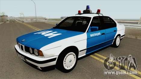 BMW 525i (E34) Police 1991 for GTA San Andreas