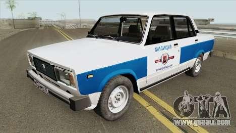 VAZ 2105 (Municipal Police) for GTA San Andreas