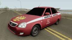 Lada Priora (COVID-19 Control) for GTA San Andreas