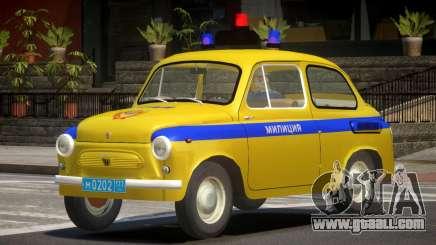 ZAZ 965 Police for GTA 4