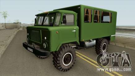GAZ 66 (HQ) for GTA San Andreas