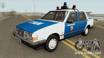 Volvo 460 (Police) 1991 for GTA San Andreas